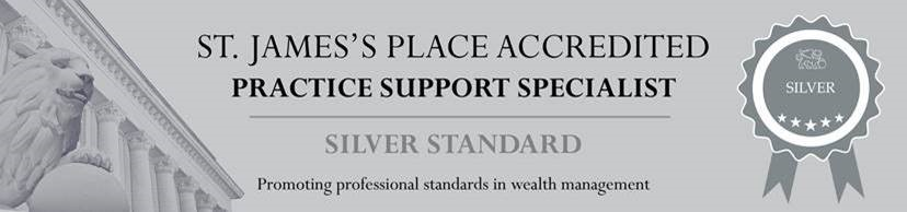 St. James's Place - Silver Status of Accreditation