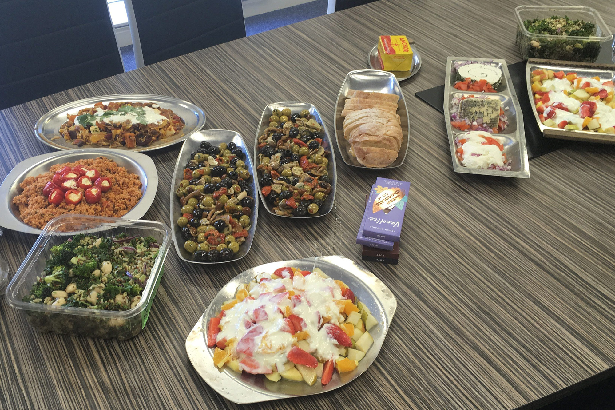 The Real Junk Food Project Corporate Buffet Zelig
