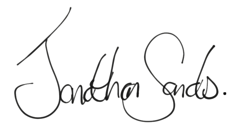 Jonathan Sands SIgnature