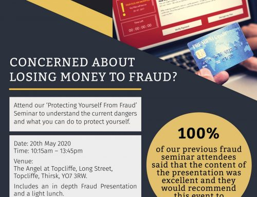 Protecting Yourself from Fraud Seminar